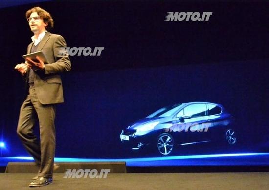 Peugeot 208: vis à vis con Eugenio Franzetti