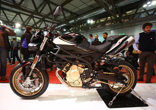 Moto Morini Corsaro ZZ ad EICMA 2016