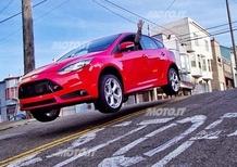 Ken Block: prime immagini da San Francisco con la Ford Focus ST
