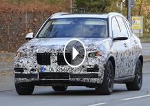 Nuova BMW X5 2018 corre veloce sul tracciato del Nurburgring [Video Spia]