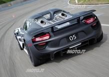 Porsche 918 Spyder: ulteriori immagini e dettagli