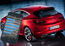 Opel Astra OPC: una app per controllarne la telemetria