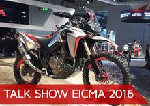 Talk show Eicma 2016: le Maxi Enduro 2017