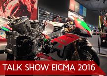 Talk show Eicma 2016: l'evoluzione tecnica delle moto 2017