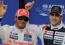 Hamilton vs Maldonado: mancano solo gli schiaffi...