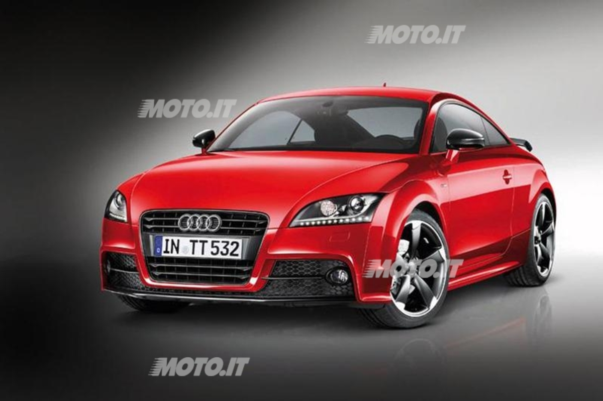 audi tt coup s line competition news. Black Bedroom Furniture Sets. Home Design Ideas