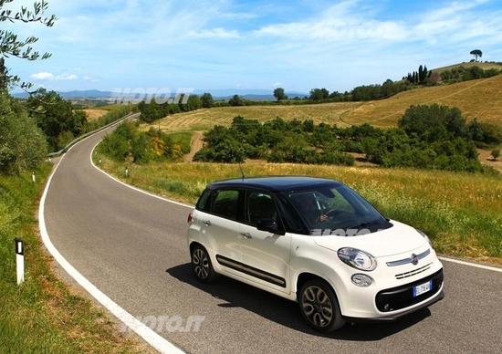 Fiat 500L: il City Brake Control