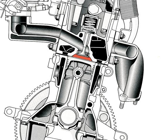 """Pure nel motore Fiat Fire, apparso nel 1985, la distribuzione era monoalbero. Le camere di combustione però avevano una forma a scatola di sardine molto """"aperta"""", che si avvicina in una certa misura a quella lenticolare"""