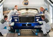 Rolls Royce: assunti 50 nuovi dipendenti per la personalizzazione