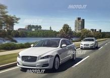 Jaguar XF e XJ: in arrivo la trazione integrale