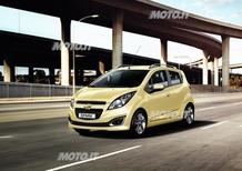 Chevrolet Spark: in arrivo un lieve facelift