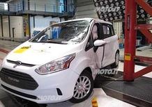 Ford B-Max: 5 stelle Euro NCAP
