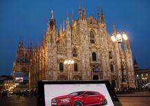 Mercedes-Benz Classe A alla Vogue Fashion's Night Out
