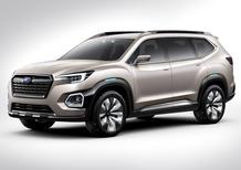 Subaru Viziv-7 Concept: il SUV che sbarcherà negli USA
