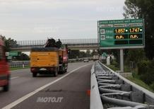 Autostrade: benza-cartelloni col prezzo che non c'è