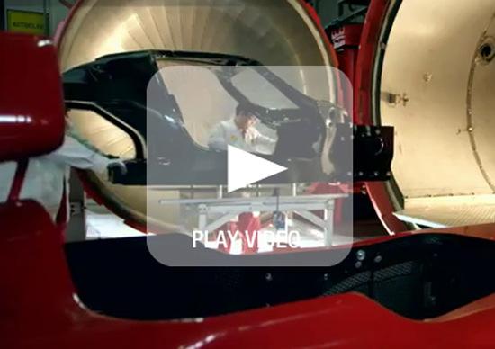 Ferrari: svelato il telaio della nuova ibrida