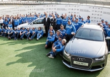 Audi A4 allroad personalizzate per gli atleti FISI