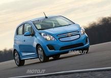 Chevrolet Spark EV: svelata definitivamente