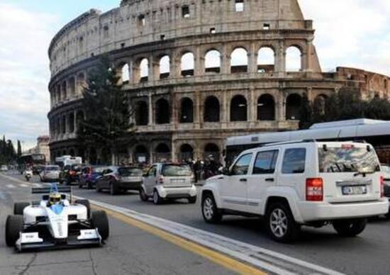 Formula E: presentata la candidatura di Roma