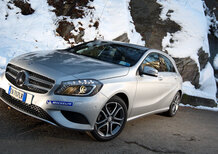 Michelin Alpin A4 e Mercedes Classe A