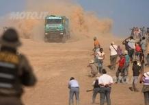 Dakar 2013. 5a tappa. Incidente mortale coinvolge un mezzo dell'assistenza. Italiani: out Viglio