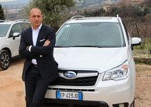 Andrea Placani: «La nuova Subaru Forester ha un cuore e due anime»
