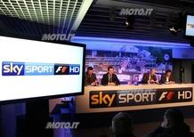 Sky: presentata La Formula 1 molto più da vicino