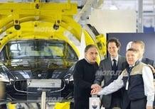 Maserati: inaugurato lo stabilimento di Grugliasco. Marchionne: «Giornata storica»
