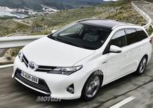 Toyota Auris Touring Sports: a Ginevra la versione familiare