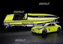 Mercedes-AMG e Cigarette Racing: presentato l'offshore elettrico più potente del mondo