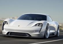 Porsche Mission E: obiettivo 20.000 esemplari venduti all'anno
