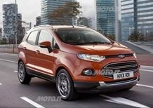 Ford EcoSport: svelata la versione definitiva per l'Europa