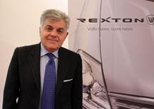 Sergio Mantica: «I clienti italiani amano Ssangyong Rexton»
