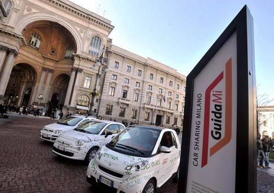 Car sharing: lo usa 1 italiano su 100