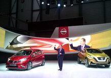 Andy Palmer: «Nissan viene in Europa per produrre 13 nuovi modelli»