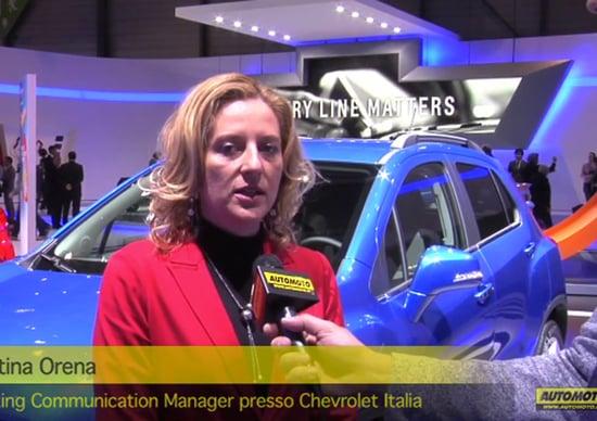 Chevrolet - Salone di Ginevra 2013 - Intervista a Valentina Orena - Automoto.it