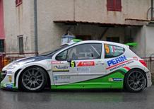 CIR 2013. Giandomenico Basso e Mitia Dotti (Peugeot 207 S2000) vincono il Rally del Ciocco