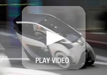 Toyota i-Road concept: ecco come si muove