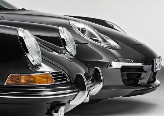 La Porsche 911 festeggia i 50 anni con l'Italian Tour