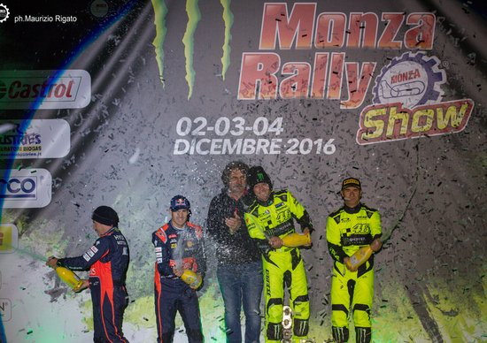Monza Rally Show 2016, Master Show: Sordo out, vince Rossi