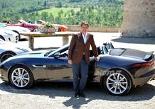 Jaguar F-Type: Salvatore Ferragamo scelto come ambasciatore per l'Italia