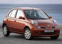 Nissan: richiami per 841.000 veicoli tra Micra e Cube