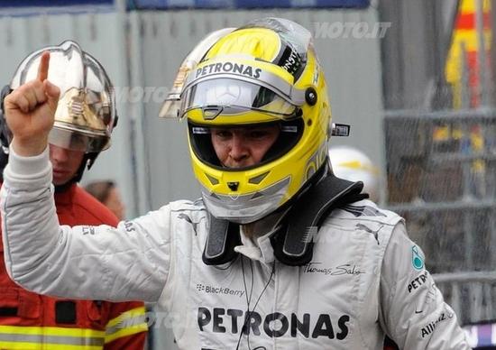 F1 GP Montecarlo 2013: Rosberg domina le qualifiche a Monaco