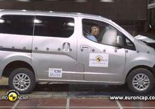 Euro NCAP: 3 stelle per Nissan Evalia