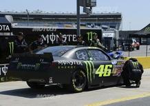 Valentino Rossi: a 300 km/h con la NASCAR - Video