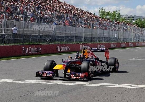F1 GP Canada 2013: vince Vettel