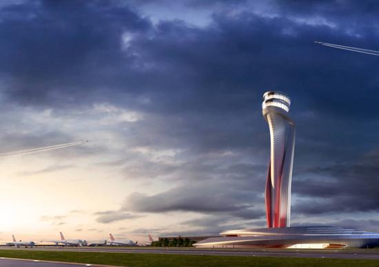 Progetto di Aecom e Pininfarina, vincitore del concorso per il nuovo aeroporto di Istanbul
