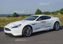 Aston Martin DB9: nasce una versione ibrida plug-in con Bosch
