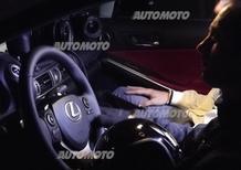 Ciak si gira: lo spot di Lexus IS Hybrid