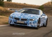 BMW i8: i dati ufficiali